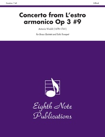 Concerto (from <i>L'estro Armonico,</i> Op 3 #9)
