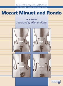 Mozart Minuet and Rondo