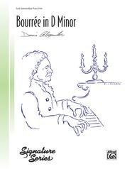 Bourrée in D Minor