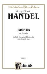 Joshua (1748), An Oratorio