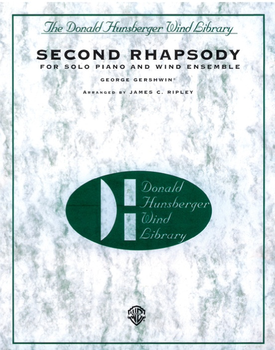 Second Rhapsody (for Solo Piano and Wind Ensemble)