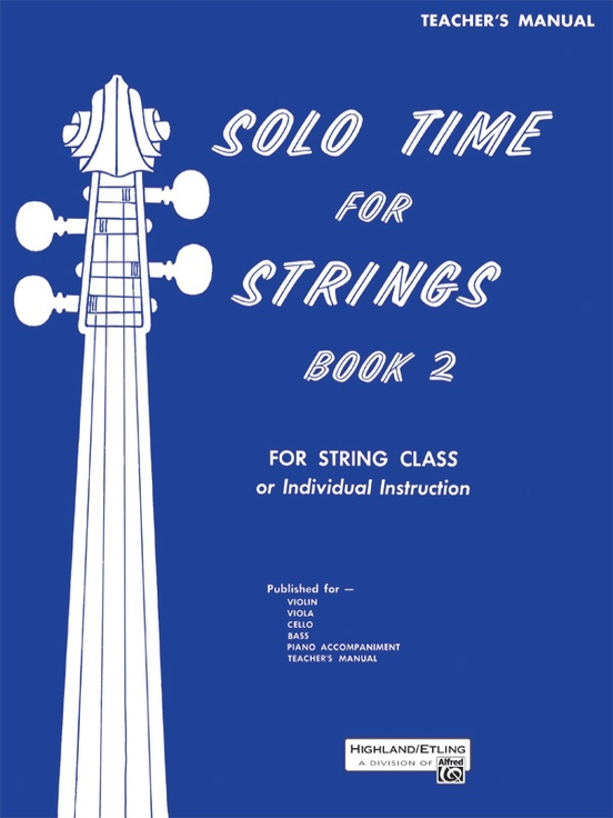 Solo Time for Strings, Book 2