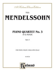 Piano Quartets No. 3 in B Minor, Opus 3