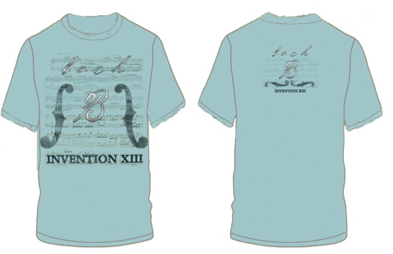 Bach Invention XIII T-Shirt (Small)