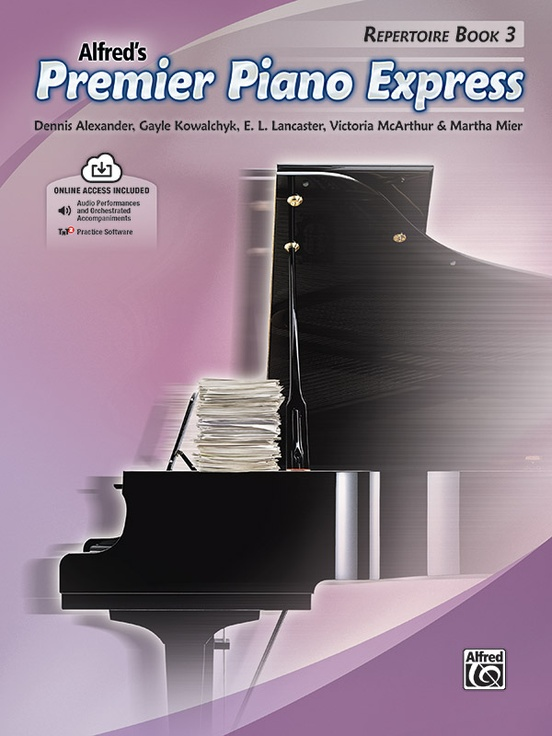 Premier Piano Express, Repertoire Book 3