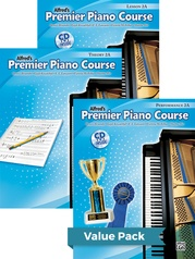 Premier Piano Course, Lesson, Theory & Performance 2A 2012 (Value Pack)