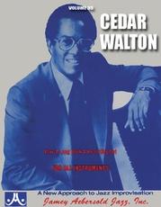 Jamey Aebersold Jazz, Volume 35: Cedar Walton