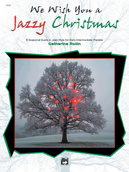 We Wish You a Jazzy Christmas: Piano Duet (1 Piano, 4 Hands) Book