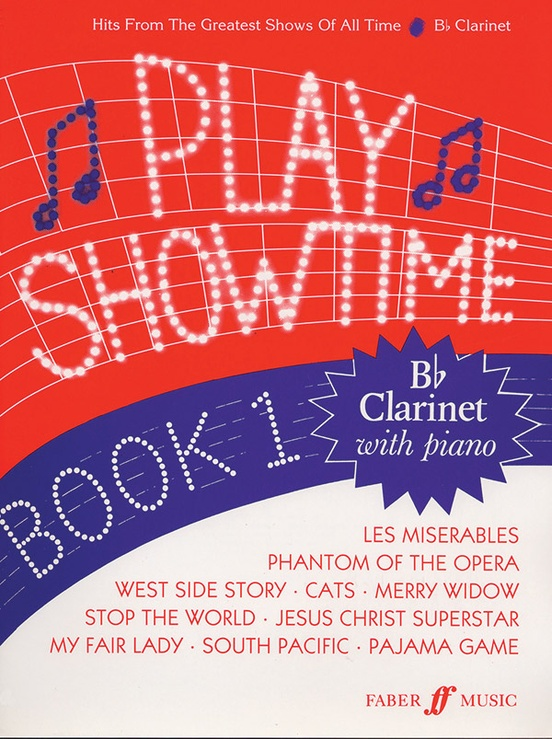 Play Showtime for Clarinet, Book 1