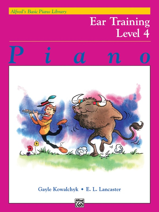 Alfred's Basic Piano Library: Ear Training Book 4