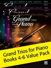 Grand Trios for Piano Books 4-6 (Value Pack)