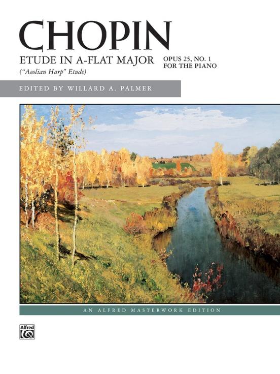 Chopin, Etude in A-flat Major, Opus 25, No. 1