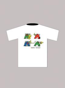 Taste Brass! T-Shirt: White (Extra Large)