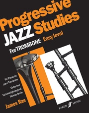 Progressive Jazz Studies for Trombone, Book 1