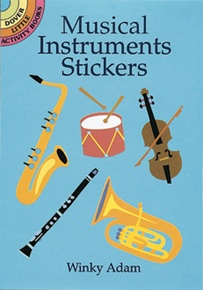 Musical Instruments Stickers