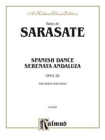 Spanish Dance, Opus 28 (Serenata Andaluza)