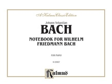 Notebook for Wilhelm Friedemann Bach