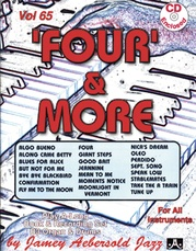 Jamey Aebersold Jazz, Volume 65: 'Four' & More