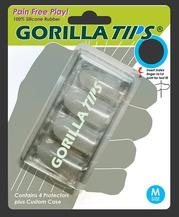 Gorilla Tips Fingertip Protectors Clear Size Medium
