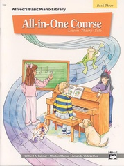 Alfred's Basic All-in-One Course, Book 3