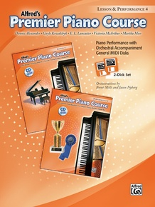 Premier Piano Course, GM Disk 4 for Lesson and Performance