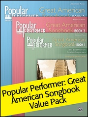 Popular Performer: Great American Songbook 1-3 (Value Pack)
