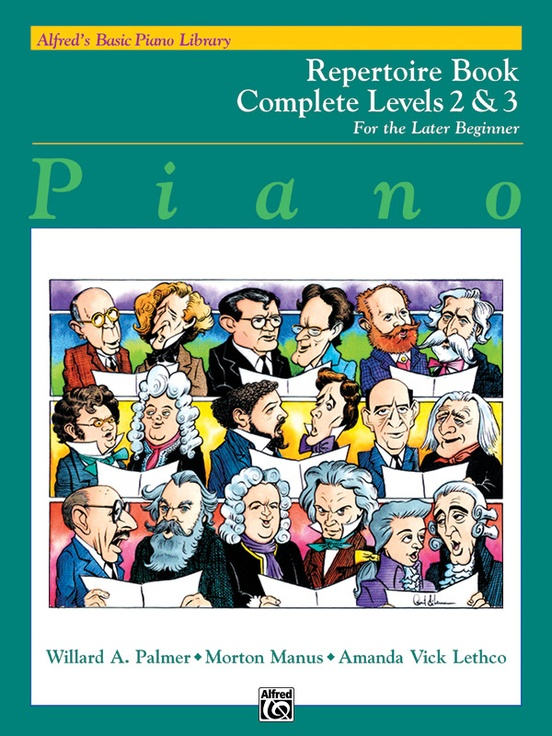 Alfred's Basic Piano Library: Repertoire Book Complete 2 & 3
