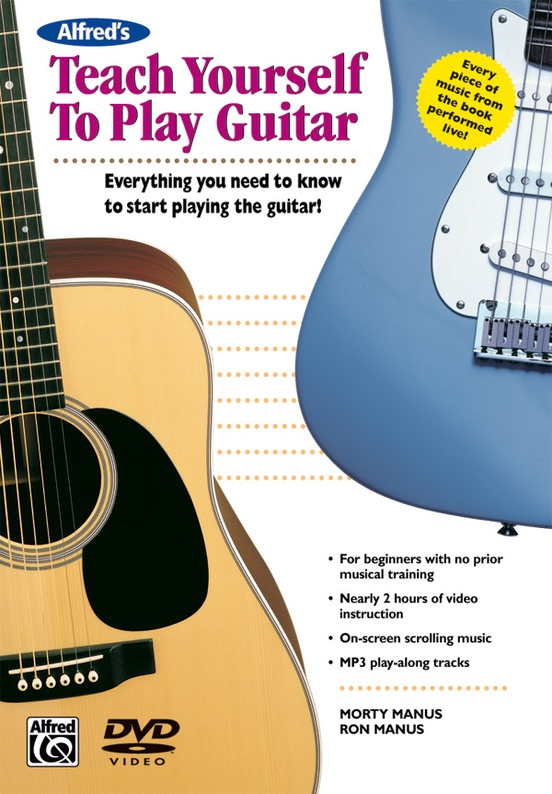Alfred's Teach Yourself to Play Guitar: Guitar DVD