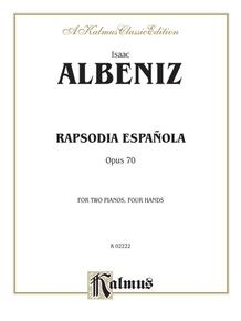 Rapsodia Española, Opus 70