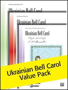 Ukrainian Bell Carol Sheet solos (Value Pack)