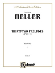 Thirty-Two Preludes, Opus 119