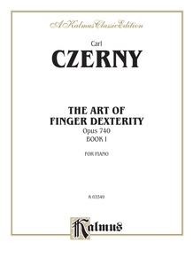 The Art of Finger Dexterity, Opus 740, Book I