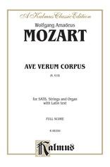 Ave Verum Corpus, K. 618