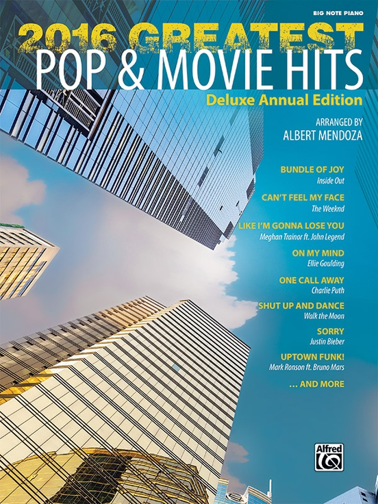 2016 Greatest Pop & Movie Hits