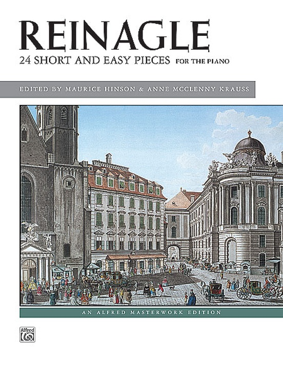 Reinagle: 24 Short & Easy Pieces, Opus 2