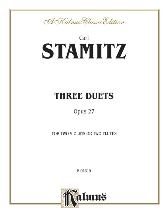 Three Duets, Opus 27