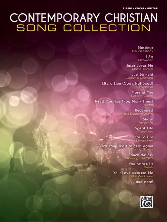 Contemporary Christian Song Collection: Piano/Vocal/Guitar Book
