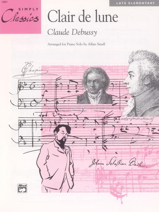 Clair De Lune Piano Sheet Claude Debussy