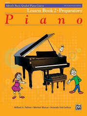 Alfred's Basic Graded Piano Course, Lesson Book 2