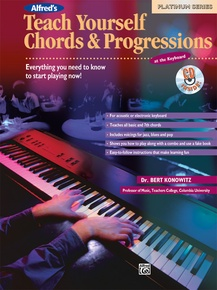 Alfred's Teach Yourself Chords & Progressions at the Keyboard