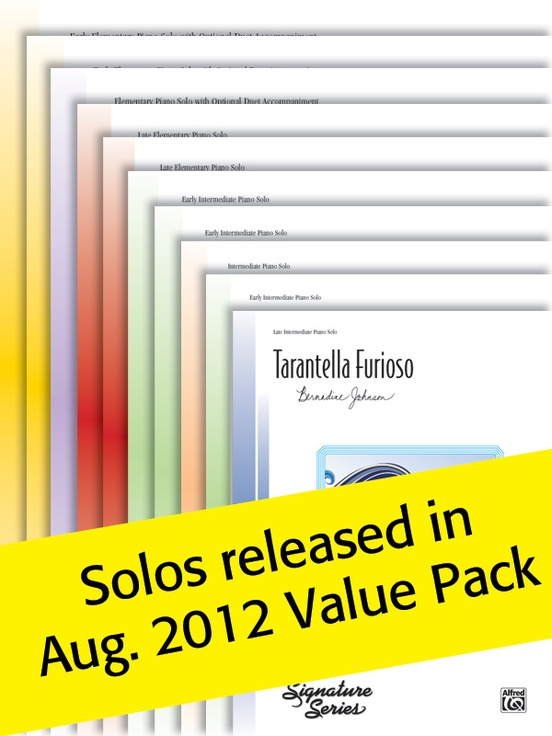 Alfred's Sheet Solos (Value Pack)