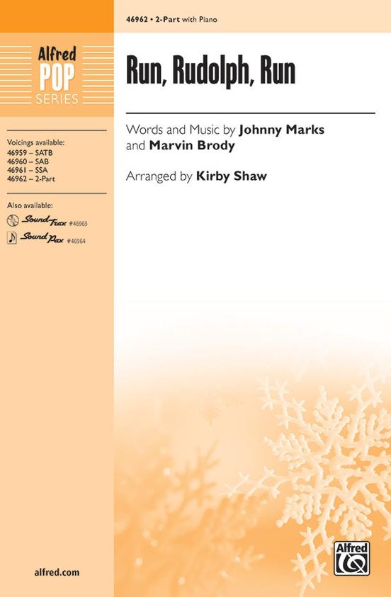 Run, Rudolph, Run: 2-Part Choral Octavo: Marvin Brody