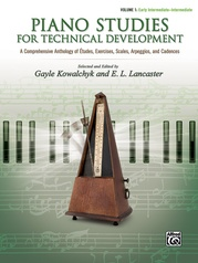 Piano Studies for Technical Development, Volume 1
