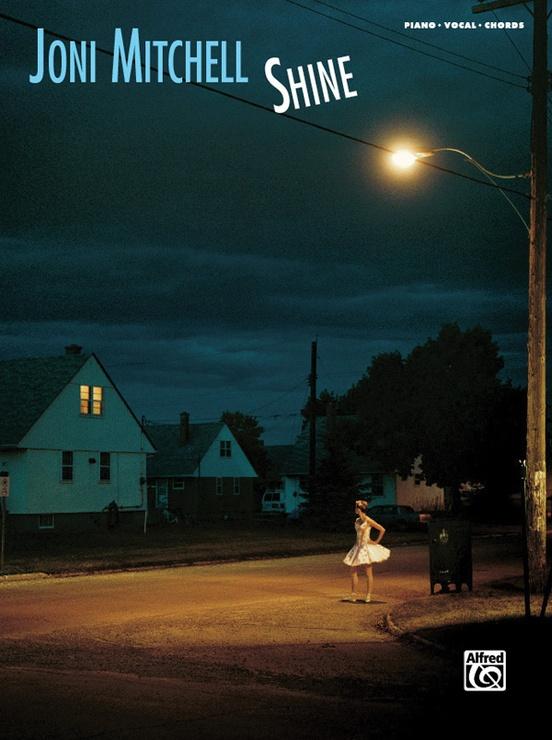 Joni Mitchell Shine Pianovocalchords Book Joni Mitchell