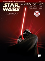 Star Wars® Instrumental Solos for Strings (Movies I-VI)