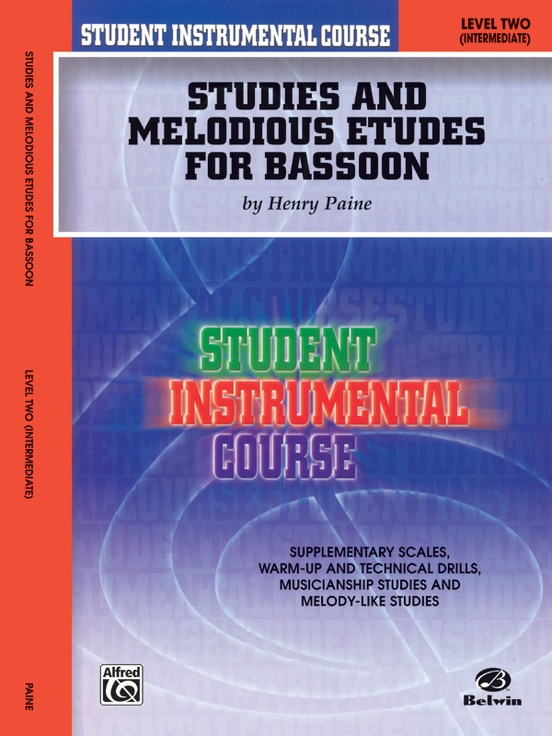Student Instrumental Course: Studies and Melodious Etudes for Bassoon, Level II