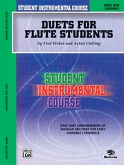 Student Instrumental Course: Duets for Flute Students, Level I