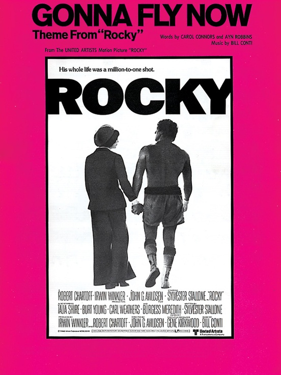 Gonna Fly Now Theme From Rocky Pianovocalchords Sheet Bill Conti