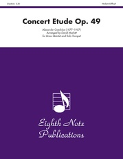 Concert Etude, Opus 49