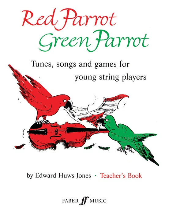 Red Parrot Green Parrot
